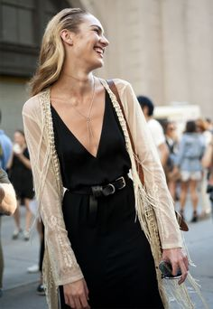 New York Fashion Week: Nina Garcia, Amy Astley And More Street Style Stars (PHOTOS)