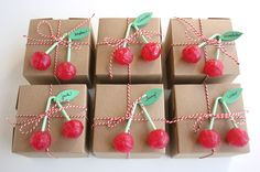 Lollipops - great ideas for party packs