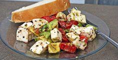 Avocado / Tomato/ Mozzarella Salad | Inspired Dreamer