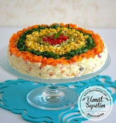 - Food & Drink The Most Delicious Desserts – Culture Trip Salad Cake, Fruit Salad, Vegetable Cake, Appetizer Salads, Tasty, Yummy Food, Food Decoration, Turkish Recipes, Food Presentation