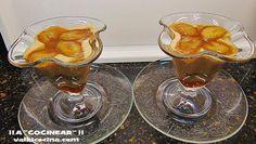 Postre de galleta, yogur y plátano caramelizado con azúcar moreno | Cocina