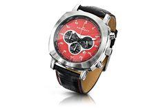 Challenger Watch Red