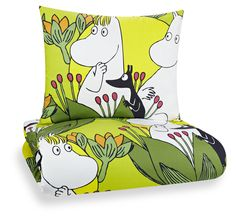We have a great selection of bedroom items such as Moomin lamps and Moomin duvet covers in both black and white and color. Browse all Moomin bedroom products below. Moomin Shop, Moomin Mugs, Linen Bedding, Bedding Sets, Bed Linen, Tove Jansson, Adventure Nursery, Textiles, Marimekko
