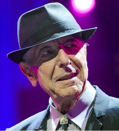 Legendary musician, Leonard Cohen