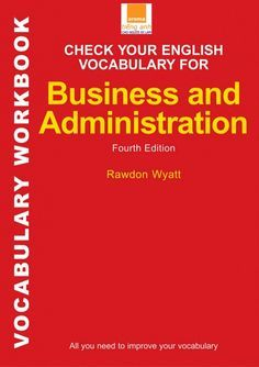 Check your English vocabulary for business and administration- aroma.…