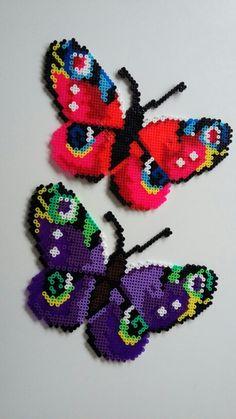 Hama perler, Sommerfugle, butterfly