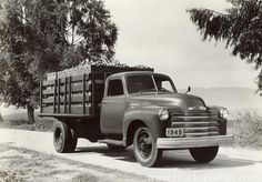 Chevrolet - Series 3000 / 4000 / 6000 '48 (Commercial vehicles) - history, photos, PDF broshures