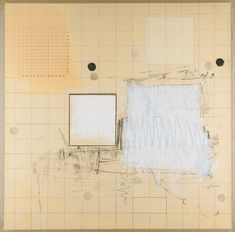 Robert Ryman - Drawing With Numbers (1963)