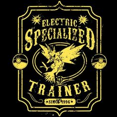 Electric Specialized Zapdos T-Shirt $12.99 Pokemon tee at Pop Up Tee!
