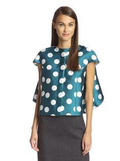Gracia Women's Polka Dot Cape Top, http://www.myhabit.com/redirect/ref=qd_sw_dp_pi_li?url=http%3A%2F%2Fwww.myhabit.com%2Fdp%2FB013FV0EZG%3F