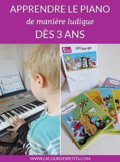 Nous avons testé une méthode d'apprentissage du piano et du solfège à faire à la maison avec les enfants : ludique et plutôt bien fait, découvrez Mélopie !
