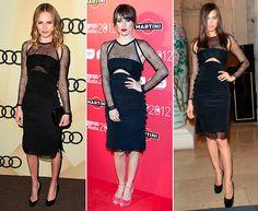 Kate Bosworth, Blanca Suárez e Irina Shayk, de Emilio Pucci (primavera-verano 2013), ¿quién lo lleva mejor? #HOLAfashion #celebrities #celebritystyle
