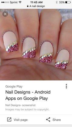 Pink Nail Art, Nail Art Diy, Easy Nail Art, Pink Nails, Toe Nail Designs, Nail Polish Designs, Acrylic Nail Designs, Claw Nails, Toe Nails