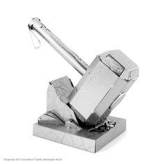 Metal Earth Avengers Thor's Hammer Mjolnir Laser Cut 3D Model Kit
