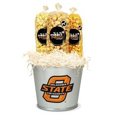 OSU Popcorn Tin Pail