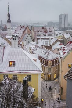Enchanting Tallinn, Estonia