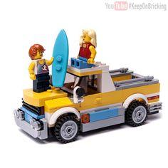 LEGO Creator set 31079 custom design remake model SURFER PICK UP TRUCK