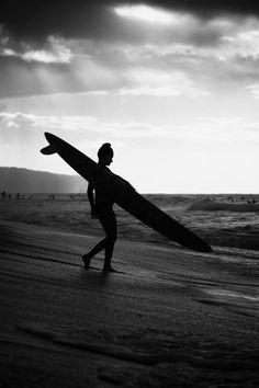 North Shore silhouette.