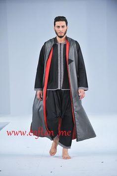 Benhaddou+Abdelwahab Sherwani, Kaftan Men, Man Skirt, Style Masculin, Arab Men, Men's Fashion, Mens Attire, Modest Outfits, Personal Style