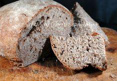 Pane integrale casereccio con lievito madre, ricetta facile, pane cafone, lievitazione lenta, veloce da preparare, pane senza impasto, integrale, pane per vegani