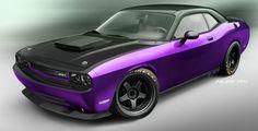 2012 Ultraviolet Dodge Challenger