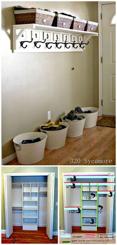 How To Build Entryway Solutions And Organization - 100 Ultimate DIY Entryway Ideas That You Can DIY Easily - DIY & Crafts