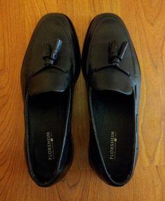 Florsheim Lowell tassle loafers.