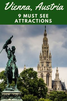 Vienna, Austria bucket list. Learn what are the absolute must-see sights for first-time visitors to Vienna