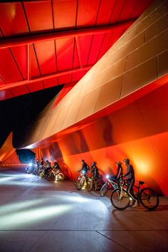 Cycling at the National Museum of Australia, Canberra