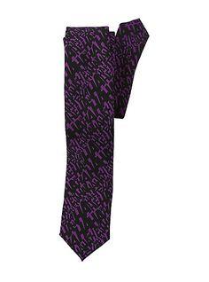 DC Comics Batman The Joker Hahaha Print Skinny TieDC Comics Batman The Joker Hahaha Print Skinny Tie,