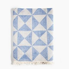 Light blue Turkish cotton towel in geometric triangle pattern. Can be used as a towel, picnic blanket, shawl, scarf, or tablecloth. Turkish Bath Towels, Turkish Cotton Towels, Blue Blanket, Picnic Blanket, Jack And Jill Bathroom, Luxury Towels, Turkish Blanket, Blue Towels, Triangle Pattern