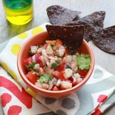 Clean Eating Shrimp Salsa What do ya think @Style Space & Stuff Blog Gehrke  yea, ehhh, nahh, not so much?