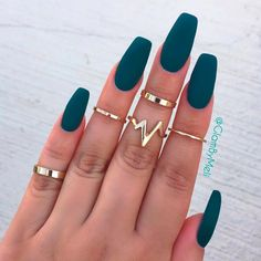 Image result for nail shapes and colors