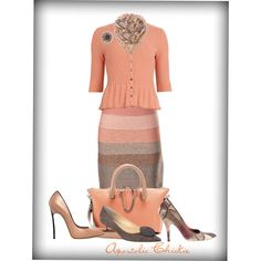 """Colorful Ombre"" by apostolicchickie on Polyvore"