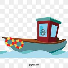 Bear Fishing, Fishing Boats, Boat Cartoon, Boat Vector, Boat Illustration, Ocean Backgrounds, Water Background, Fish Logo, Photoshop