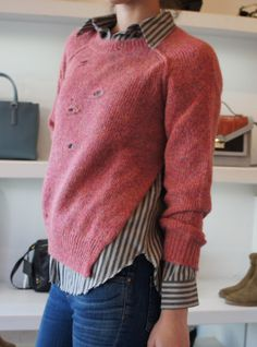 Isabel Marant Rain Pullover in Pink