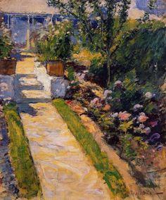 In the Garden by John Henry Twachtman