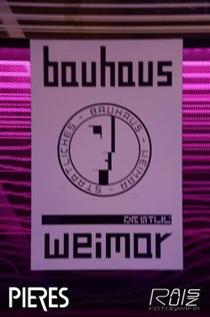 Bauhaus Weimar Minimal Art Posters by Less is more
