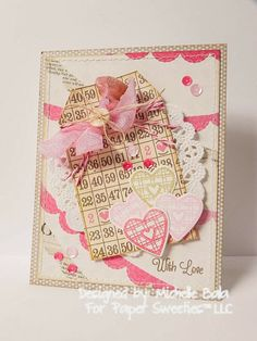My Passion for Crafting: February 2014 - Paper Sweeties Inspiration #16