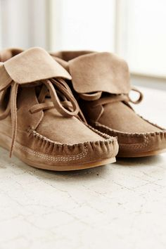 Moccasin Ankle Boot - Urban Outfitters