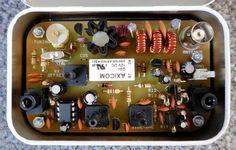 The Foxx-3 Transceiver – 80m, 60m, 40m, 30m, 20m versions available