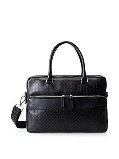 Salvatore Ferragamo Men's Bag, Deep Black