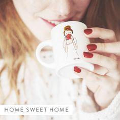 My Little Corner My Little Beauty, My Little Corner, Flower Packaging, Cups, Sweet Home, Spirit, French, Coffee, Deco