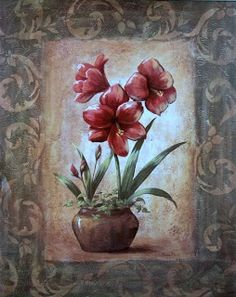 Varieté de Láminas para Decoupage: Flores!!