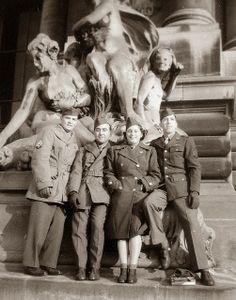 Vintage Photos of Paris, France during World War II
