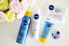 Going on holiday or a festival this Summer? Here's NIVEA's ultimate survival beauty kit!