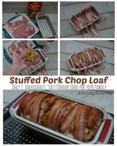 Stuffed Pork Chop Lo