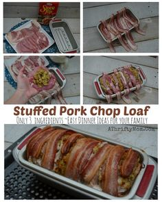 Stuffed Pork Chop Lo