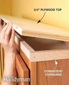 Make every inch count with an easy-to-clean upper-cabinet shelf