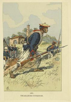 Tonkinese Infantry 1885